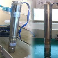 Best 0.5 hp ac dc water pump brushless Price of Stainless Steel DC Submersible Solar Pump dc submersible solar pumps wholesale