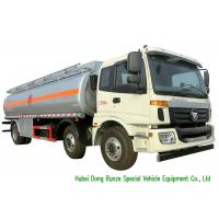 China FOTON 6x2 AUMAN 25000L Oil Tanker Truck With Stainless Steel Fule Tank on sale