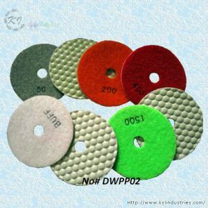 China Dry Polishing Pads for Granite and Concrete (Diamond Grits# 50 ~ Buff) on sale