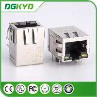 Shieled RJ45 Ethernet Connector Surface Mount PCB Jack with Magnetics
