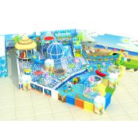 China Customized Color Kids Playground Equipment Indoor Plastic Naughty Castle on sale