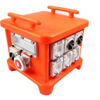 Best EN60439 4 Portable Power Distribution Unit , UV8 Resistance Spider Electrical Box wholesale