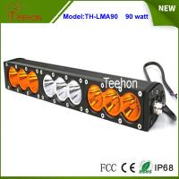 """Cheap 90w 16.6"""" 9-30V combo single stack offroad led light bar with amber and for sale"""
