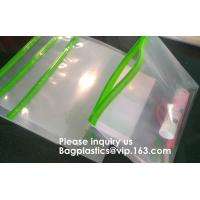 Best Resealable Clear Reclosable Stand Up Pouches Plastic Seal Zip Lock Bags Poly Bag,gridding document zip bag with metal ho wholesale