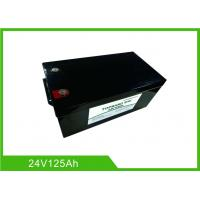 Best Lifepo4 Deep Cycle Lithium Ion Battery 24V 125AH Electric Forklift Environmental Friendly wholesale