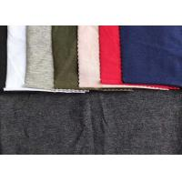 Customizable Single Jersey Knit Fabric 94 %Cotton 6% Spandex For Garment