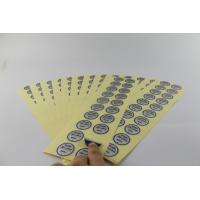 China Eco Friendly 12x4cm Shampoo Label Sticker For Various Electronic Medical Product on sale