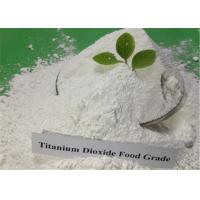 China Food Grade Titanium Dioxide Products TiO2 White Powder CAS 13463-67-7 on sale