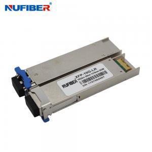 Best 60km LC DDM 10G XFP Transceiver 1270nm 1330nm Built In Digital Diagnostic Function wholesale