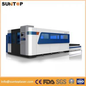 China Aluminium Fiber Laser Cutting Machine / Laser Cutting Equipment 1500*3000mm on sale