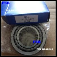 China Gcr15 , 4137A / 274 , 14138A / 274 Car Wheel Bearing For Trailer P6 P5 on sale
