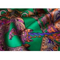 Best Durable Patterned Printed Silk Fabric 22 D For Bedding / Dress / Garment wholesale