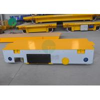 China Manually-Automatically Guided Vehicle Trackless Motorized Transfer Trolley For Material Handling on sale