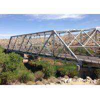 China Long Span Galvanized Surface Treatment Steel Truss Bridge Modern Structural Outlooking on sale