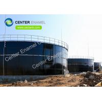 China 600000 Gallon Bolted Steel Drinking Water Storage TanksWith Aluminum Alloy Trough Deck Roofs on sale