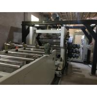 China Twin Screw PET Sheet EXtrusion Line PET Sheet Production Line Thermoforming For Folding Box on sale