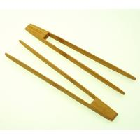 Best bamboo wooden food service tong wholesale