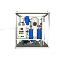 Double Stages Vacuum Transformer Oil Purifier Stainless Steel Material 40KW - 135KW