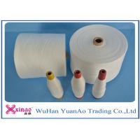 Buy cheap Colored Top Dyed Polyester Yarn /  Spun Polyester Sewing yarn Eco-Friendly product