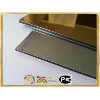 Best silver/ golden mirror finished aluminum composite panel wholesale