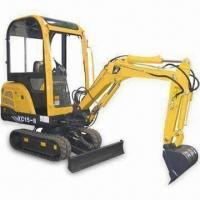 Cheap Mini Excavator with 0.04cbm Bucket Capacity and Cummins/Perkins/Kubota Engines for sale