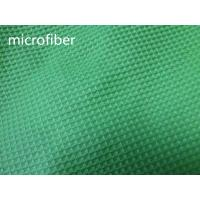 Best Green 150cm Width Microfiber Cleaning Cloth 300gsm Density Waffle Fabric Absorbent wholesale