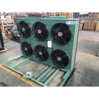 Best Industrial Cold Room 6 Fan Motors Fin Type Air Cooled Condenser with Specifications wholesale