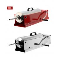 China 76 * 22.5 * 18cm Home Sausage Making Equipment Hand Crank Sausage Stuffer 10 Kg on sale