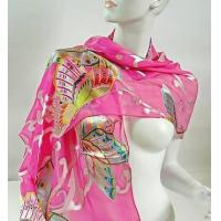 China Silk Scarf  ( Burn-out Printed ) on sale