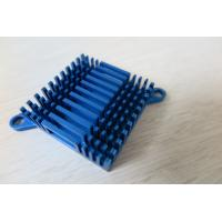 China Blue Air Cooling Aluminum Heat Sink Extrusion Casting And Forging Heat Sink on sale