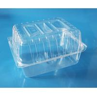 Best Disposable plastic fruit container cake packaging box bake packaging box food grade PET food packaging contaier FDA EU wholesale