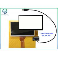 Best G + G Structure 7 Inch Capacitive Touch Screen With USB Interface For Innolux AT070TN92 wholesale