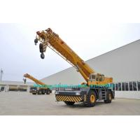 China 55 Ton ZOOMLION  Rough Terrain Crane , Hydraulic Truck Cranes RT55 Single Cab Design on sale