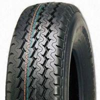 China Passenger/Car Radial Tire, 215/75R14C, with Three Main straight Groove on sale