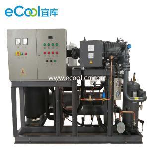 Best Automatic Bitzer Piston Parallel Refrigeration Compressor Unit  For Large Cold Storage wholesale