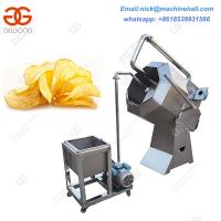 Best Semi-automatic French Machine Price|Potato Chips Flavoring Machine|China Potato Chips Flavoring  Machine for Sale wholesale