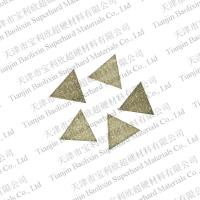 Cheap CVD diamond segments for cutting tools-junhong.zhang@tjcvddiamond.com.cn for sale