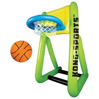 Best Inflatable Water Sports Floating Basketball Shooting Game Toy Set for kids wholesale