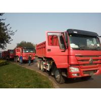 China 3 Axle Lhd Howo 6×4 Heavy Duty Dump Truck 371hp For Construction Business on sale