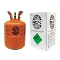 China Mixed Gas R407C Refrigerant with 99.8% Purity consist of R125 / R134a / R32 on sale