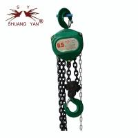 China Small Size 2 Ton Chain Hoist Trolley High Strength Alloy Steel Hook Advanced Structure Attractive Appearance on sale