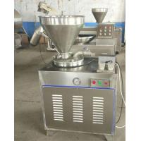 Buy cheap 50Hz Food Processing Machinery Stainless Steel Hydraulic Stuffer Sausage Maker from wholesalers