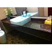 China Baltic Brown Prefabricated Granite Countertops , Marble Bath Countertops on sale