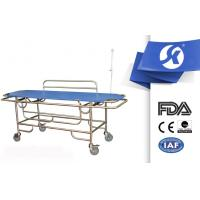 Best SS Stainless Steel Long Ambulance Gurney Guardrail Putted Down wholesale