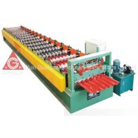 China Thickness 0.4 - 0.8mm Metal Roof Roll Forming Machine About 12 - 18m Per Min on sale