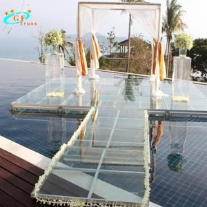 Best Aluminum Acrylic Glass Mobile Stage Platform For Concert Events wholesale