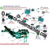 China Waste/Used Tire Recycling Machine, Tire Recycling Machine on sale