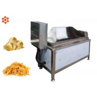 China Commercial Automatic Food Processing Machines Donut Chips Fryer High Efficiency on sale