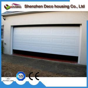 Best Motorized Galvanized steel PU foam insulated garage doors panel wholesale