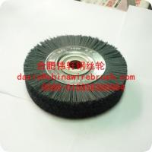 China 6 inch Abrasive Wheel brush/cup brush/circular brush on sale